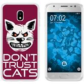Samsung Galaxy J3 2017 Silicone Case Crazy Animals M1