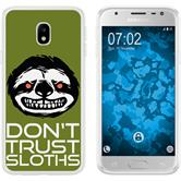 Samsung Galaxy J3 2017 Silicone Case Crazy Animals sloth M3
