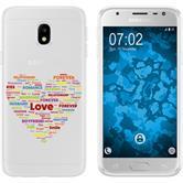 Samsung Galaxy J3 2017 Silicone Case pride M5