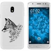 Samsung Galaxy J3 2017 Silicone Case floralFox M1-1