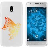 Samsung Galaxy J3 2017 Silicone Case floralFox M1-2