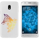 Samsung Galaxy J3 2017 Silicone Case floralFox M1-3