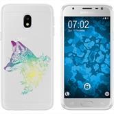 Samsung Galaxy J3 2017 Silicone Case floralFox M1-4