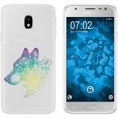 Samsung Galaxy J3 2017 Silikon-Hülle Floral  M3-4
