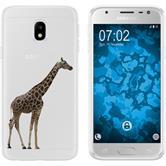 Samsung Galaxy J3 2017 Silicone Case vector animals M8