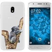 Samsung Galaxy J3 2017 Silicone Case vector animals M9