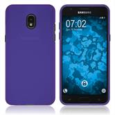 Silicone Case Galaxy J3 (2018) matt purple Case