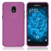 Silicone Case Galaxy J3 (2018) matt hot pink Case