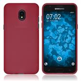 Silicone Case Galaxy J3 (2018) matt red Case