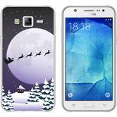 Samsung Galaxy J5 (2016) J510 Silikon-Hülle X Mas Weihnachten  M5