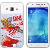 Samsung Galaxy J5 (2016) J510 Silikon-Hülle X Mas Weihnachten  M8