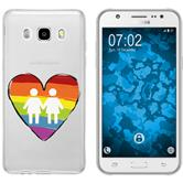 Samsung Galaxy J5 (2016) J510 Silicone Case pride M4