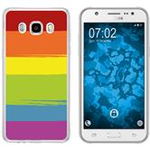 Samsung Galaxy J5 (2016) J510 Silicone Case pride M6