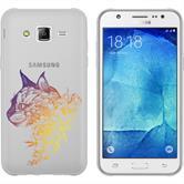 Samsung Galaxy J5 (2016) J510 Silicone Case floral M2-3