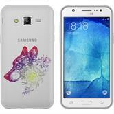Samsung Galaxy J5 (2016) J510 Coque en Silicone floral M3-5