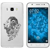 Samsung Galaxy J5 (2016) J510 Custodia in Silicone floral  M6-1