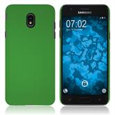 Hardcase Galaxy J7 (2018) rubberized green Cover