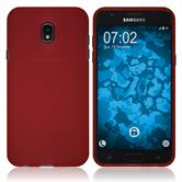 Silicone Case Galaxy J7 (2018) matt red Case