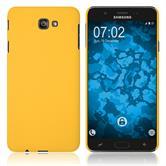 Hardcase Galaxy J7 Prime 2 gummiert gelb Case