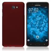 Hardcase Galaxy J7 Prime 2 gummiert rot Case