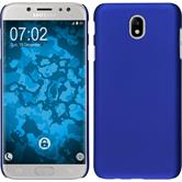 Hardcase Galaxy J7 Pro rubberized blue Case