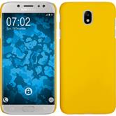 Hardcase Galaxy J7 Pro rubberized yellow Case