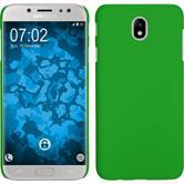 Hardcase Galaxy J7 Pro gummiert grün Case