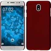 Hardcase Galaxy J7 Pro rubberized red Case