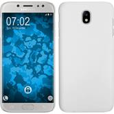 Hardcase Galaxy J7 Pro gummiert weiß Case
