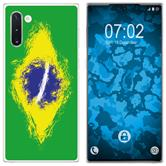 Samsung Galaxy Note 10 Silicone Case WM Brazil M3