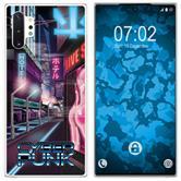 Samsung Galaxy Note 10+ Silicone Case Retro Wave M4
