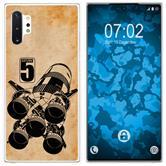 Samsung Galaxy Note 10+ Silicone Case  Moon Rocket M3