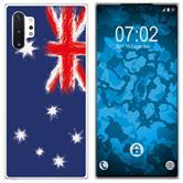 Samsung Galaxy Note 10+ Coque en Silicone WM Australie M2