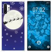 Samsung Galaxy Note 10+ Silicone Case Christmas X Mas M4