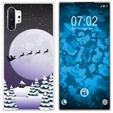 Samsung Galaxy Note 10+ Silicone Case Christmas X Mas M5