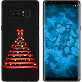Samsung Galaxy Note 8 Silikon-Hülle X Mas Weihnachten  M1