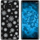 Samsung Galaxy Note 8 Silikon-Hülle X Mas Weihnachten  M2