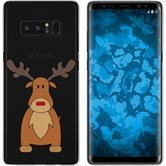 Samsung Galaxy Note 8 Silikon-Hülle X Mas Weihnachten  M3