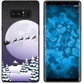 Samsung Galaxy Note 8 Silikon-Hülle X Mas Weihnachten  M5