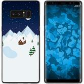 Samsung Galaxy Note 8 Silikon-Hülle X Mas Weihnachten  M6
