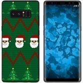 Samsung Galaxy Note 8 Silikon-Hülle X Mas Weihnachten  M7