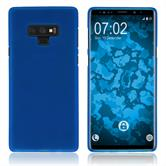 Silicone Case Galaxy Note 9 matt blue Case