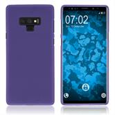 Silicone Case Galaxy Note 9 matt purple Case