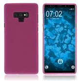Silikon Hülle Galaxy Note 9 matt pink Case