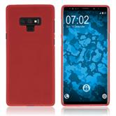 Silicone Case Galaxy Note 9 matt red Case