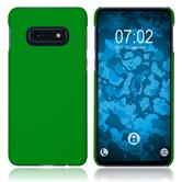 Hardcase Galaxy S10e rubberized green Cover
