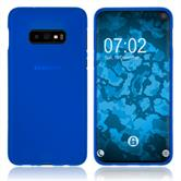 Silicone Case Galaxy S10 Lite matt blue Cover