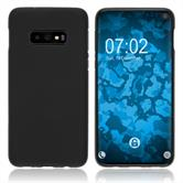 Silicone Case Galaxy S10 Lite matt black Cover