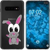 Samsung Galaxy S10 Plus Silikon-Hülle Cutiemals  M4