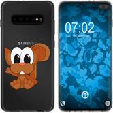 Samsung Galaxy S10 Plus Silikon-Hülle Cutiemals  M7
